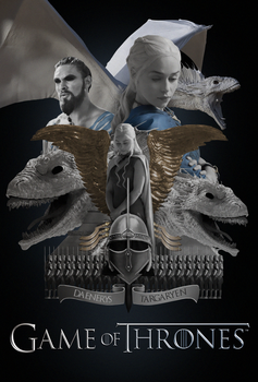 Game Of Thrones - Dany by TributeDesign