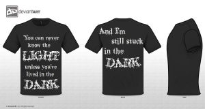 My tee shirt entry by ChocolateCigarette12