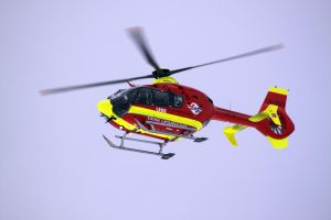 Ambulance helicopter by Lentaro92