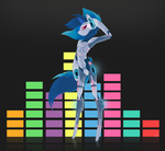Vinyl Scratch 2.0 by Stickaroo