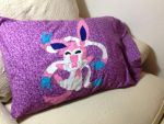 Whimsical Sylveon Pillowcase by adorkable-eleora