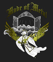 Made of Metal - T-Shirt Design by aquabluejay