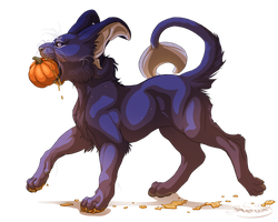 Baby Luny for Samhain by Lunewen
