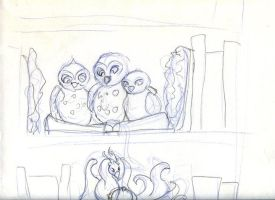 Library Guardians Owls by Starrydance