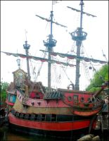 Captain Hook's Ship by Anawielle