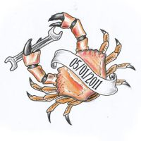 Crab tattoo design by JOVictory