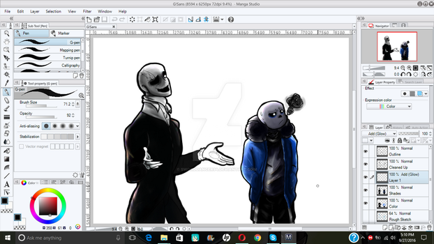 ::||Undertale||:: Update - Late Night Painting! by sworddancer94