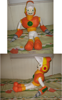 Crash Man Plushie by ShinyGirafarig