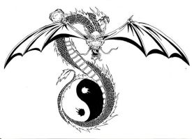 Japanese Dragon Tattoo by PriemRyeest