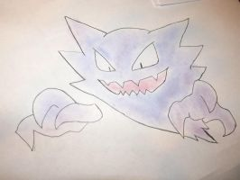 Haunter by SparkleElixir