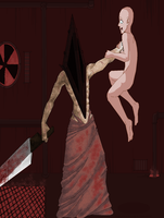 base request_Silent Hill_Pyramid Head by 13OukaMocha13