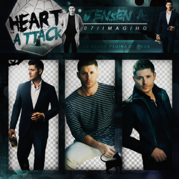 Pack Png 223 - Jensen Ackles by BEAPANDA