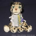 Kinectimals - Bornean Clouded Leopard plush 2011 by dapumakat