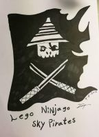Lego Ninjago The Sky Pirates Flake by Katla-cat