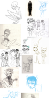 sketchdump by ASHESSS