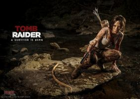 Tomb Raider Survivor by AnaAesthetic