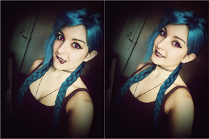 Jinx - League of Legends - Makeup / Cosplay by Dragunova-Cosplay