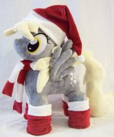 MLP Derpy Plush Christmas by Ponypassions by ponypassions