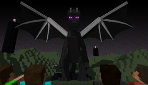 Giant Enderdragon by LockRikard