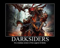 Darksiders Motivational Poster by POPCORN92