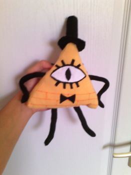 Gravity Falls - Bill Cipher plush by AnormalADN