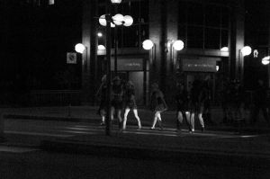 Party crossing by smilingBuDDha
