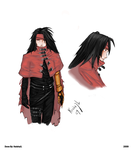 Vincent Valentine Coloured ver by keishajl