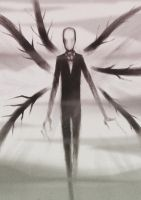 Slenderman - comes the mists by Esaurus
