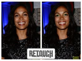 Rosario Dawson Retouch + Make Up by azy0