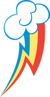 Rainbow Dash Cutie Mark by noxwyll