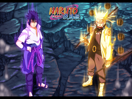 Naruto 673 - Sasuke And Naruto by DesignerRenan