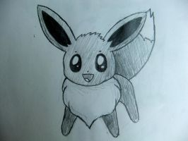 Eevee Sketch by Mickeycricky