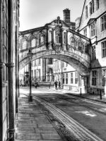 Hertford Bridge B+W by s-kmp