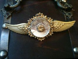 Steampunk Flight Wings Prop by Coley-Lew