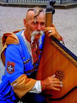 Ukrainian musician, Prague by CultureQuest