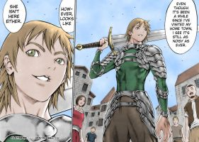 Raki colorize - Claymore by XanderCNZ92