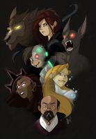 Monster Squad by Inked-Alpha