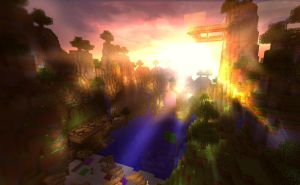 MineRising - Minecraft Sunrise by MuuseDesign