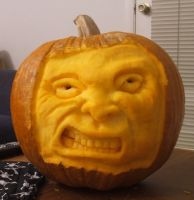 My Overnight Pumpkin by mistergarbage