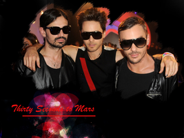 30 Seconds to Mars Wall 382 by martiansoldier