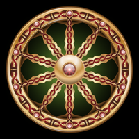 Celtic wheel by IllustratorG