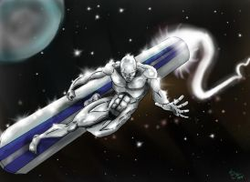 Silver Surfer by Eldhrad