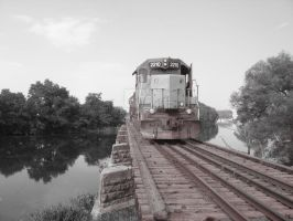 Train... Bridge by RebeccaPaige