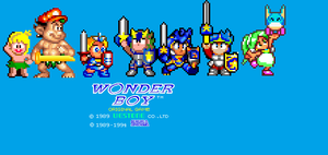 The Evolution of Wonder Boy by Tailikku1