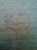 agu on a school desk by NekoHime07