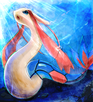 pokemon-Milotic by 28140