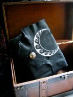 Celtic Crescent Moon Book of Shadows by EireCrescent