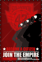 Star Citizen Propaganda poster by TheSnowMouse