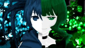 Black Rock Shooter HD WALL 7 by FacundoLeites