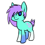 2 point Pony Adoptable by Zella-Wolf
